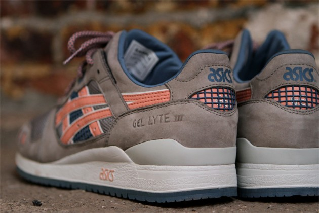 asics gel lyte iii damen flamingo